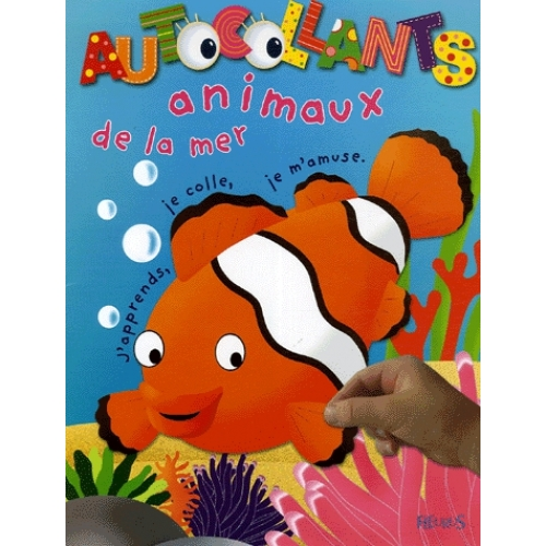 Animaux de la mer - J'apprends, je colle, je m'amuse