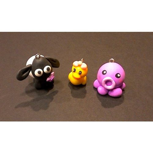 Animaux Fimo