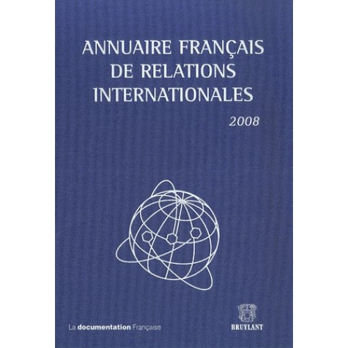 Annuaire français de relations internationales - Volume 9