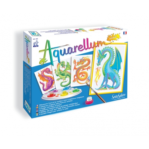 Coffret Aquarellum Junior - Dragons