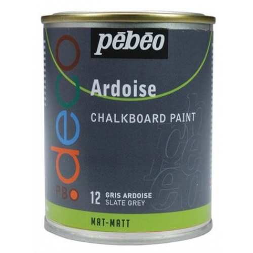 peinture ardoise gris ardoise 250ml loisirs cr atifs. Black Bedroom Furniture Sets. Home Design Ideas
