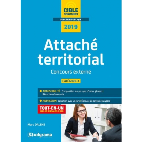 Attache territorial - Concours externe