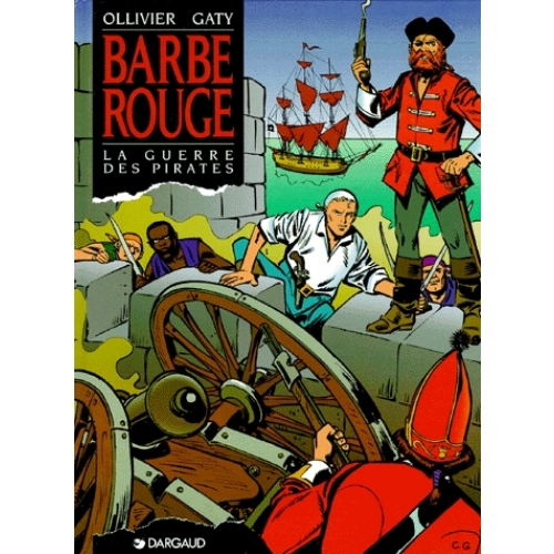 Barbe-Rouge - La guerre des pirates