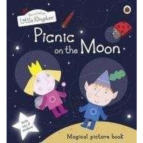 Ben and holly's little kingdom: picnic on the moon picture book with stickers