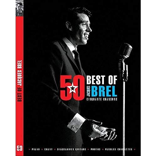 Songbook best of 50 chansons Jacques Brel