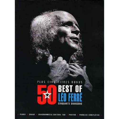 Songbook best of Léo Ferré