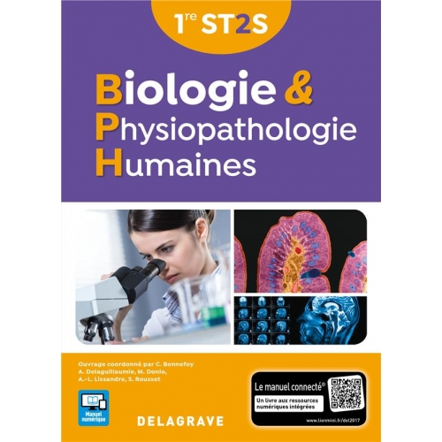 Biologie & physiopathologie humaines 1re ST2S