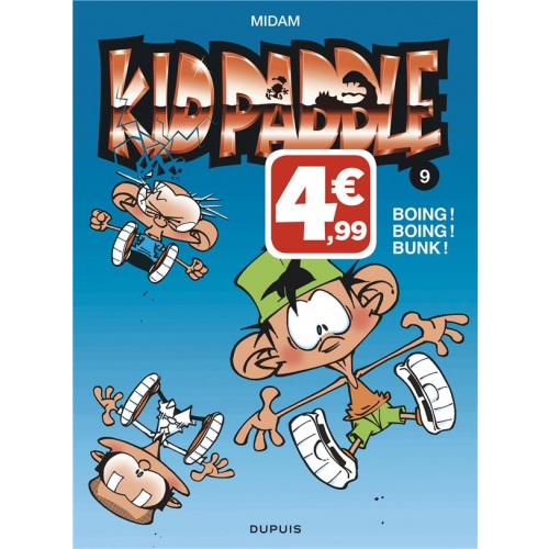 Kid Paddle Tome 9 - Boing ! Boing ! Bunk !