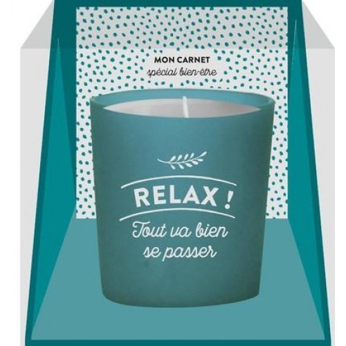 Bougie message Relax!