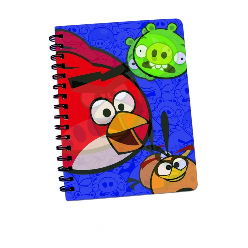 Cahier de Coloriage «Angry Birds - Crazy Night»