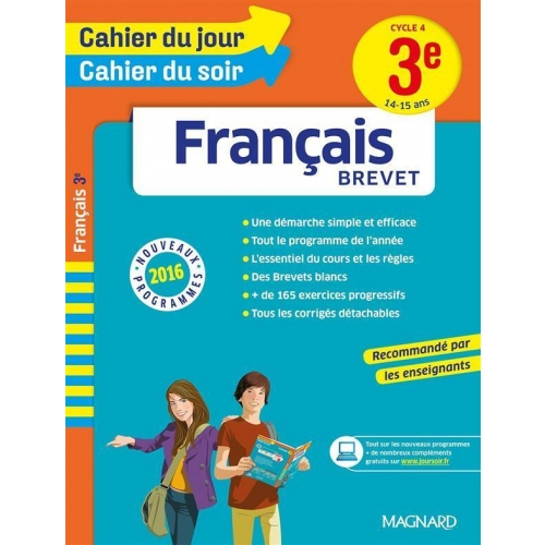 Français Brevet 3e Cycle 4