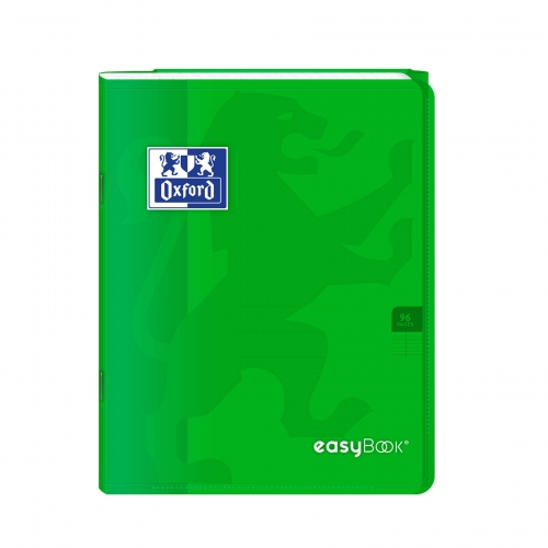 Cahier Easybook vert - 96 pages Seyes - 17x22 cm