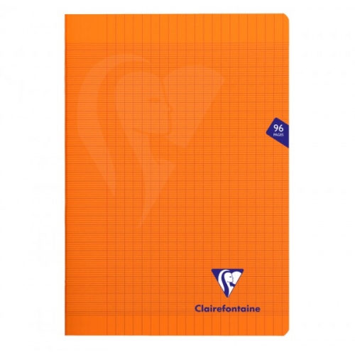 Cahier Mimesys orange - 21 x 29.7 cm - 96 pages séyès