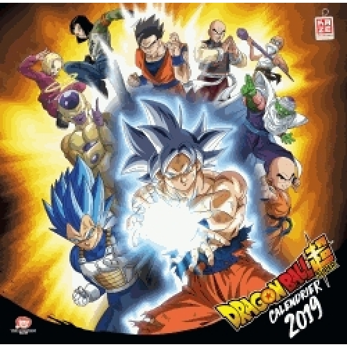 Calendrier Dragon Ball Super