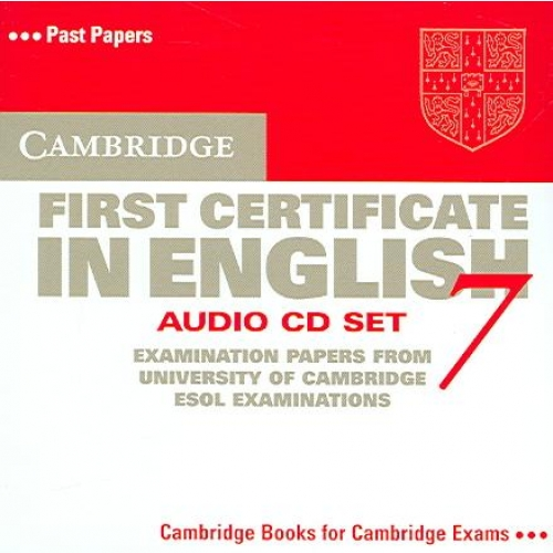 Cambridge First Certificate in English 7 Audio CD Set - Level 7