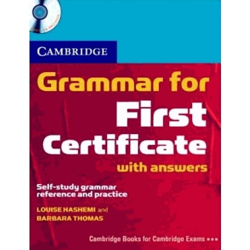 Cambridge grammar for first certificatewith answers - With  Audio-CD