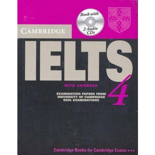 Cambridge IELTS VOLUME 4 self study pack