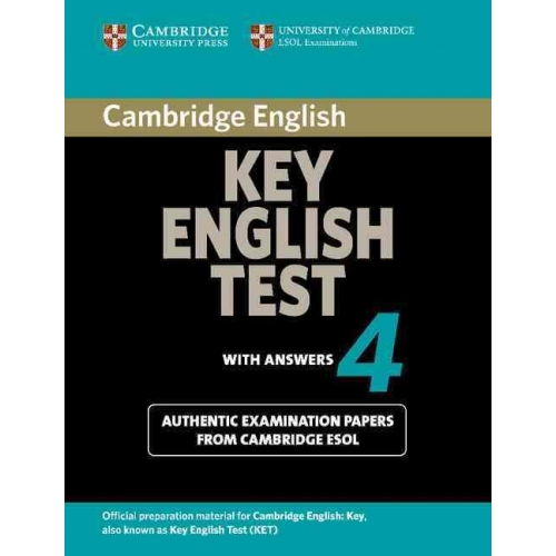 Cambridge Key English Test 4 with answers