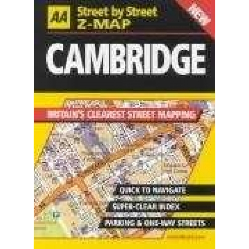 Cambridge. Street by Street Z-Map