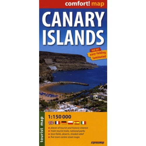 Canary Islands - Tourist map, 1/150 000