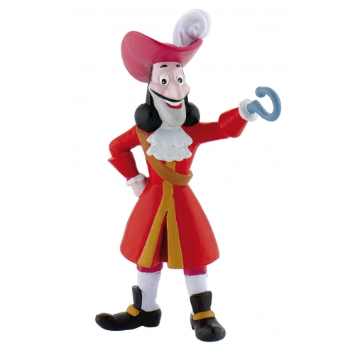 Figurine Jake et les pirates Disney - Capitaine Crochet - 10 cm