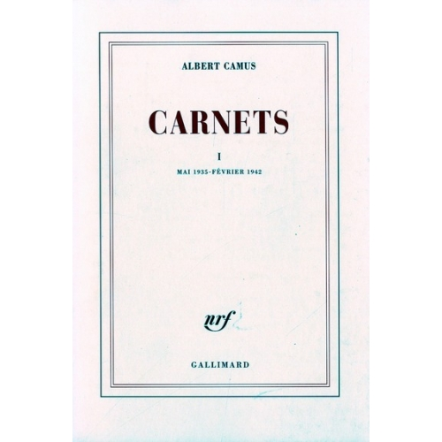 Carnets. Tome 1