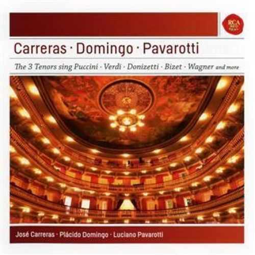 CARRERAS - DOMINGO - PAVAROTTI