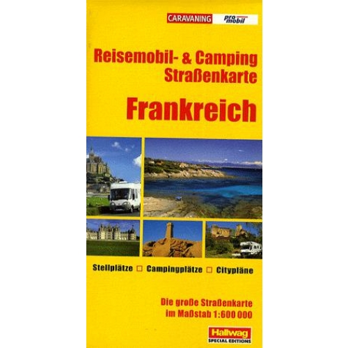 Carte Camping & Caravaning France