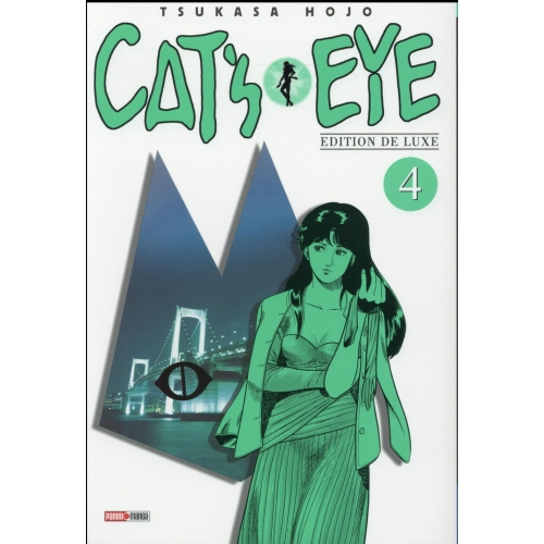 Cat's Eye Tome 4 . Edition de luxe