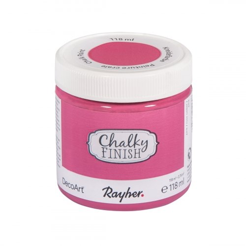 Pot de 118 ml de Chalky Finish - Rose œillet - Rayher