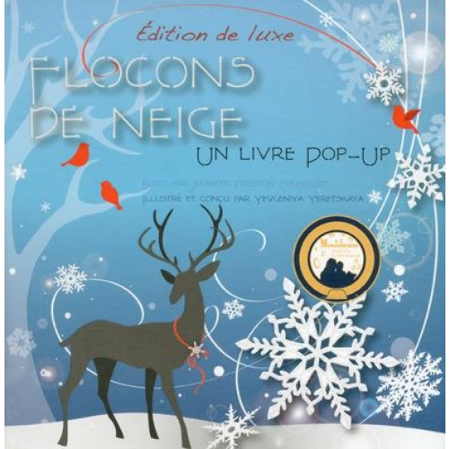 Flocons de neige - Un livre pop-up