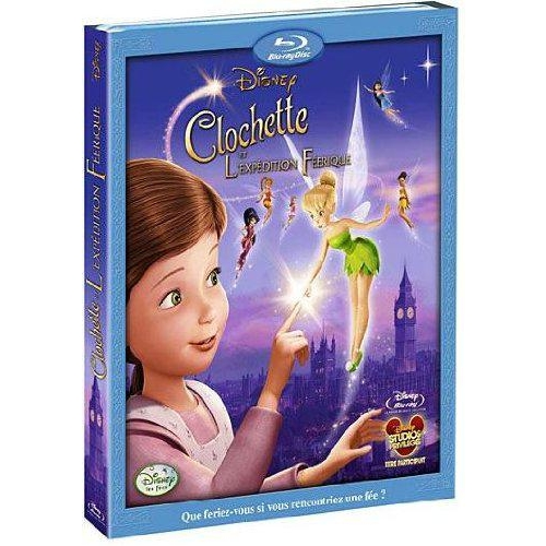 CLOCHETTE ET L'EXPEDITION FEERIQUE - Blu-ray
