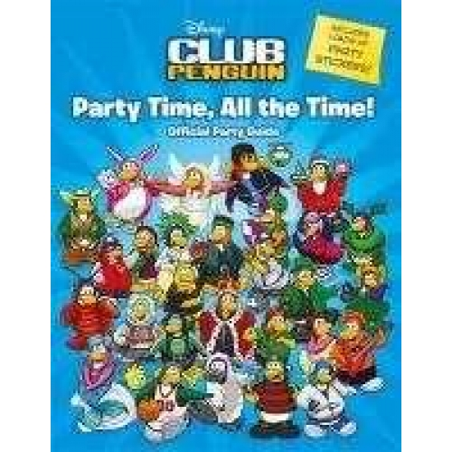 Club penguin : party time, all the time !