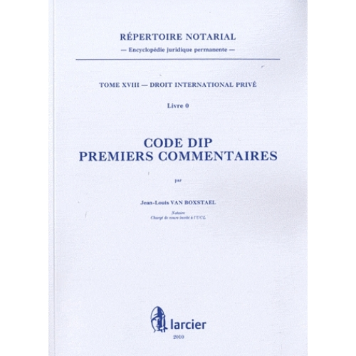 Code DIP - Premiers commentaires