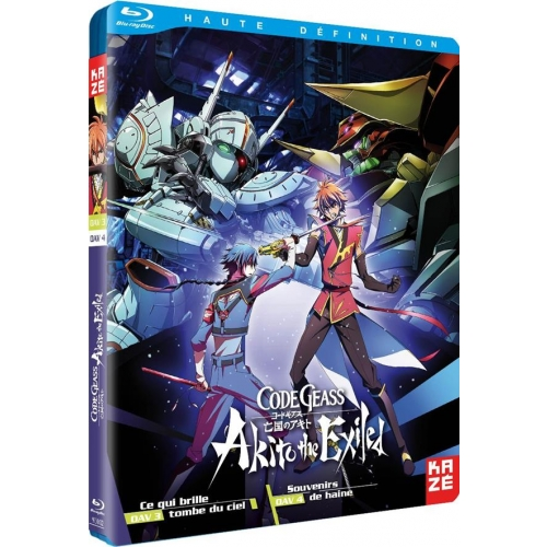 CODE GEASS AKITO THE EXILED OAVS 3 & 4