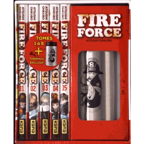 Fire Force - Coffret Tomes 1 à 5