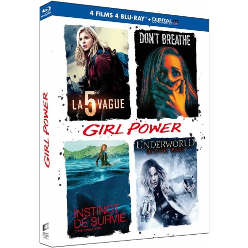 COFFRET GIRL POWER 4 FILMS