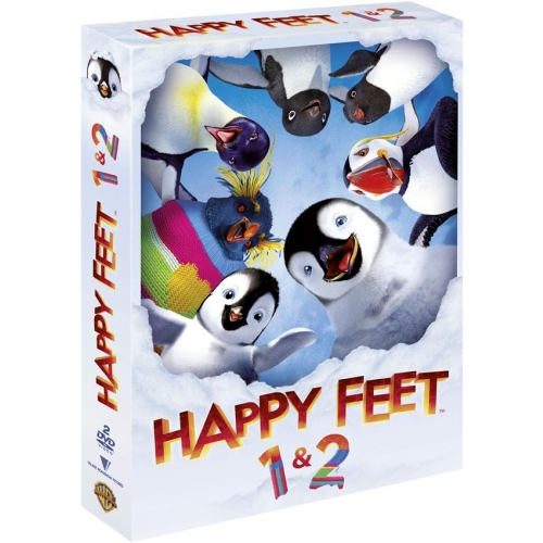 Coffret «Happy Feet» 2 films - DVD