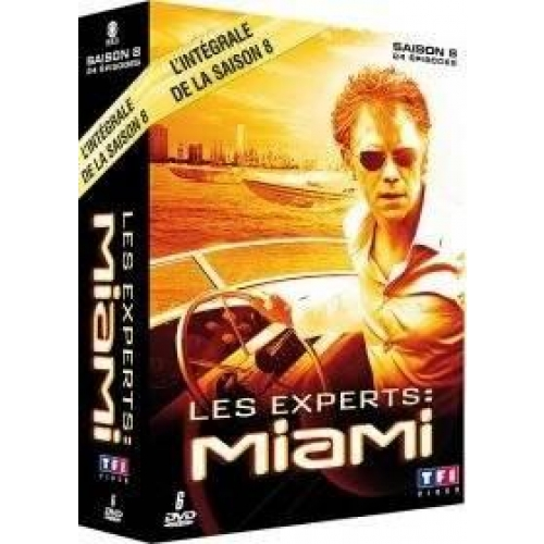 COFFRET LES EXPERTS MIAMI, SAISON 8