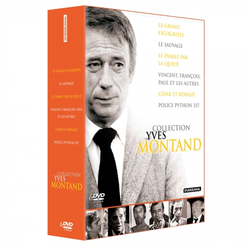 Coffret «Montand» - 6 films - DVD