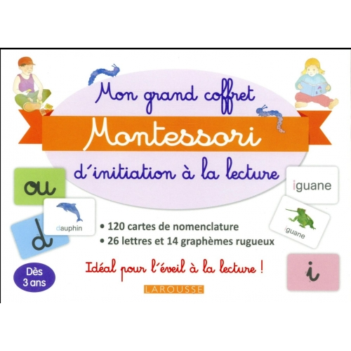 Mon coffret Montessori d'initiation à la lecture