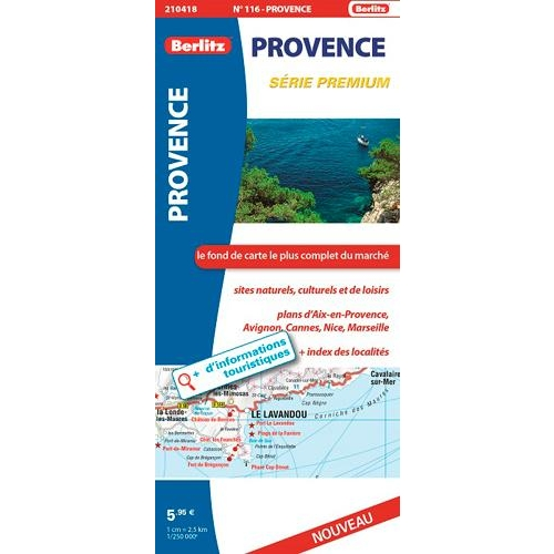 Provence - 1/250 000
