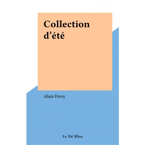 Collection d'été