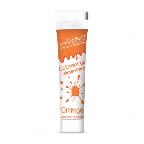 Colorant gel orange 20g - Scrapcooking