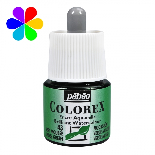 Encre Colorex 45 ml vert mousse