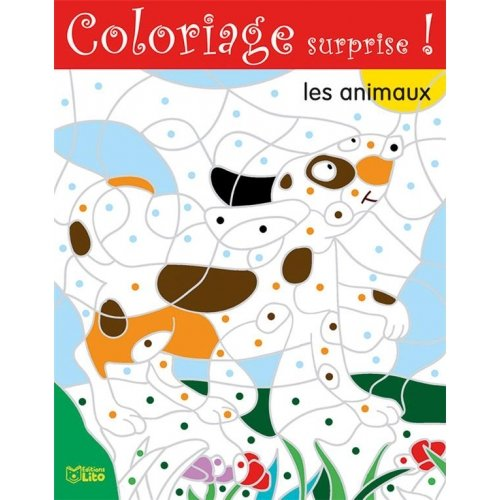 Coloriage surprise ! - Les animaux