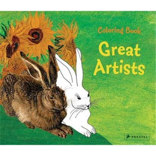 Coloring book great artists /anglais