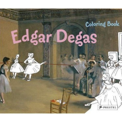 Colouring book : Edgar Degas /anglais