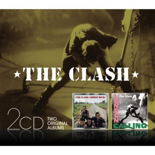 Coffret 2 CD - The Clash - Combat Rock/London Calling