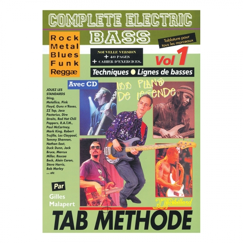 Complete electric bass volume 1